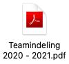Teamindeling